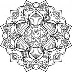 Free Mandala Coloring Pages Free Mandala Coloring Pages To Print Colouring Printable For Adults