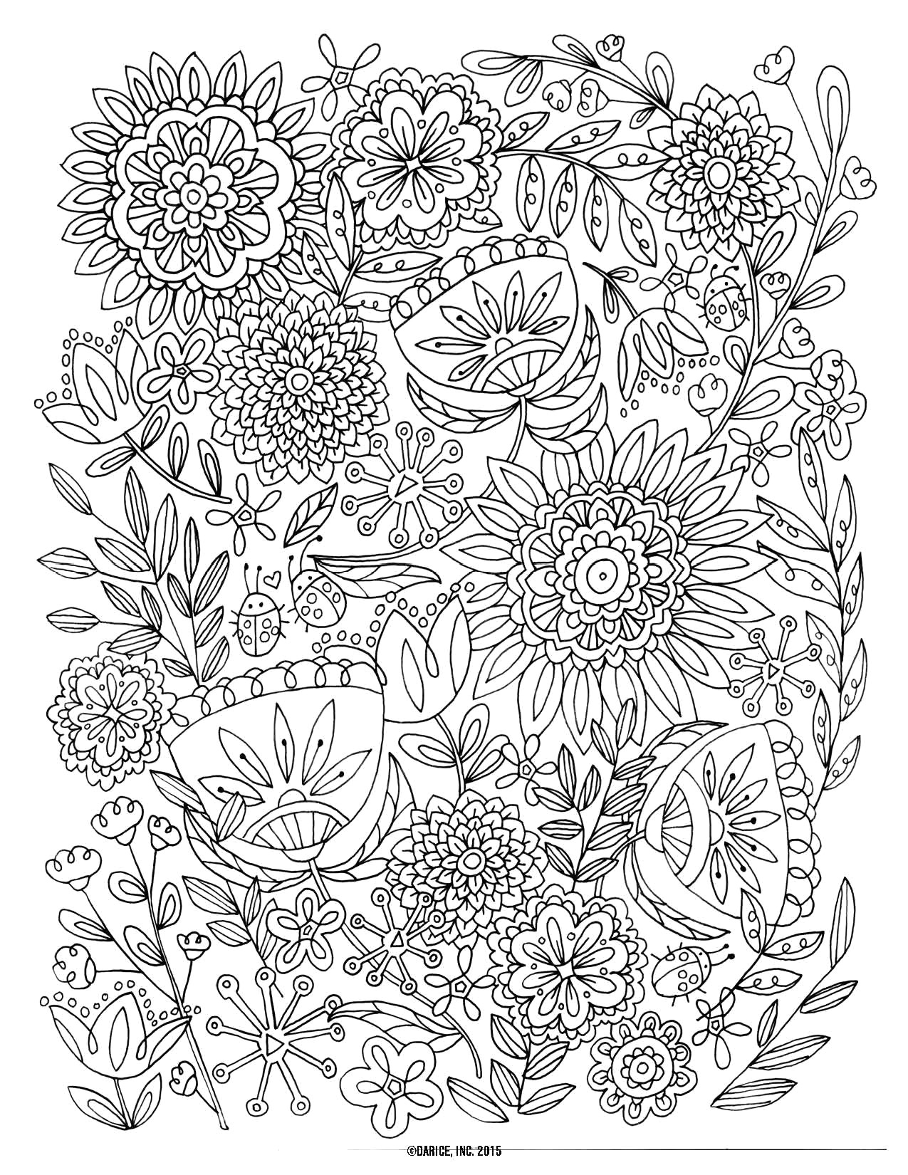 Free Printable Flower Coloring Pages Free Printable Flower Coloring Pages For Adults Thanhhoacar