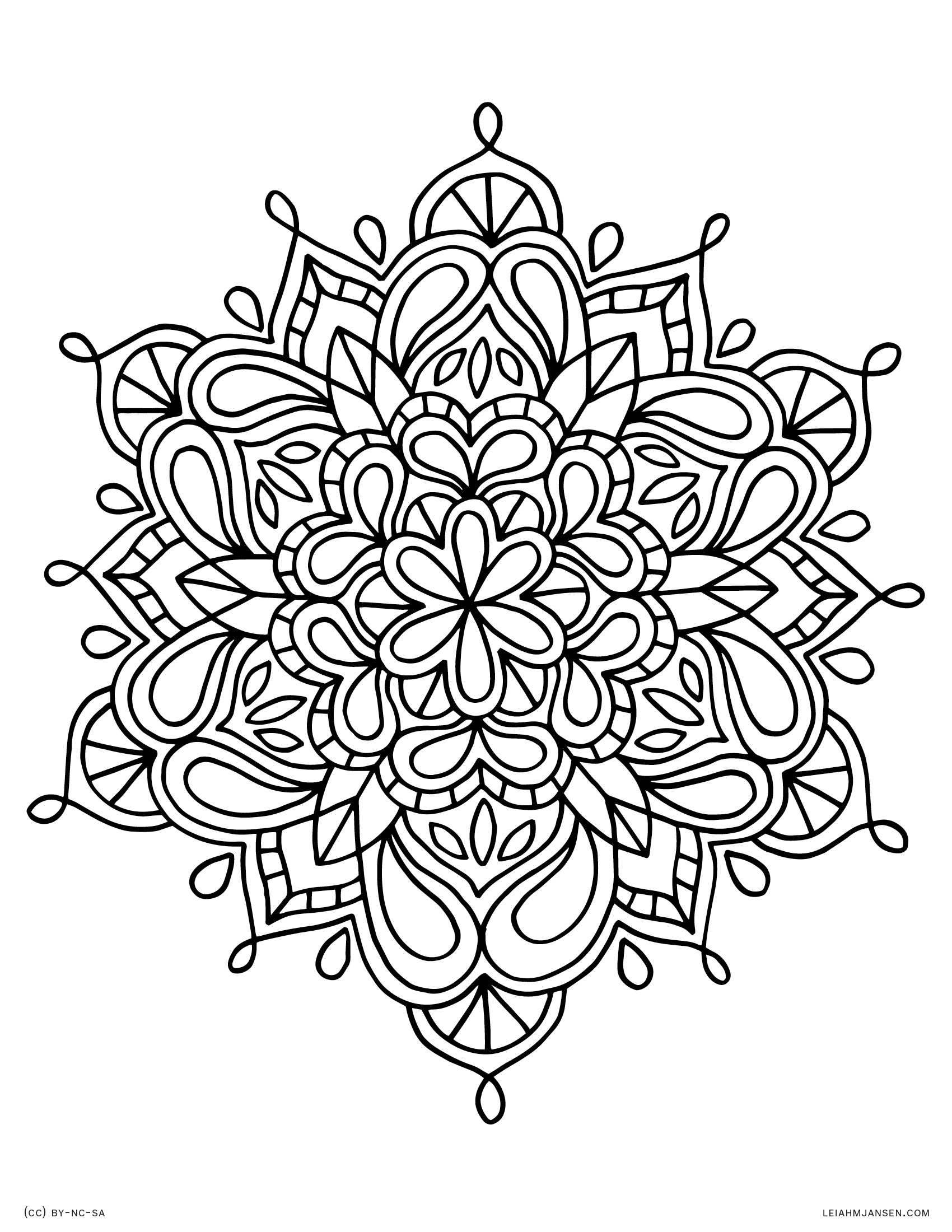 27+ Best Picture of Free Printable Mandala Coloring Pages