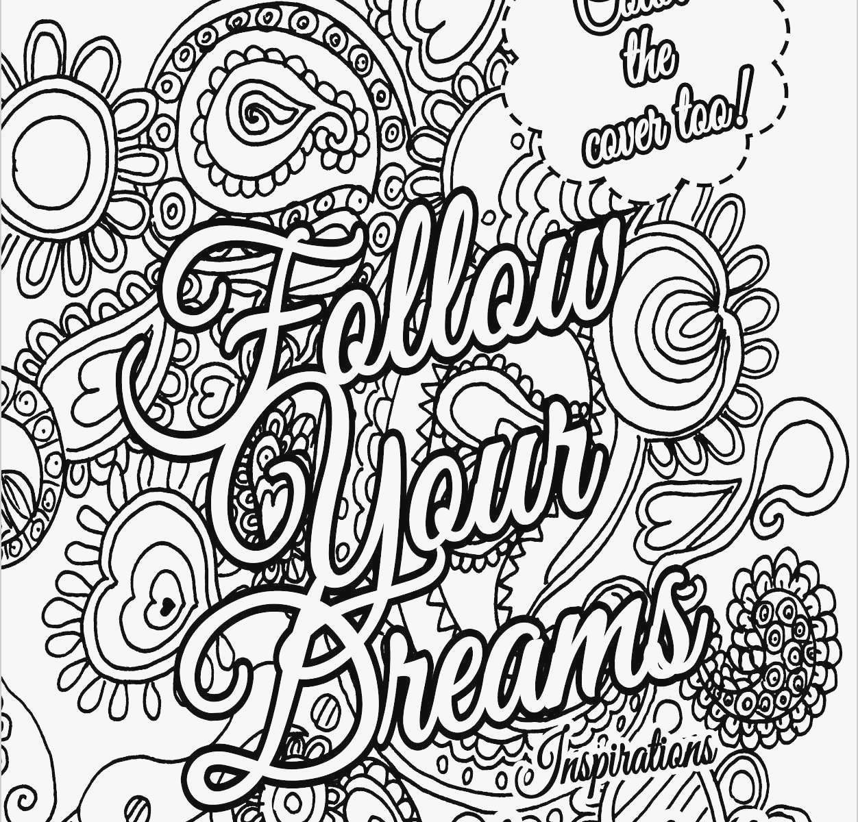 Free Printable Quote Coloring Pages For Adults Awful Free Printable