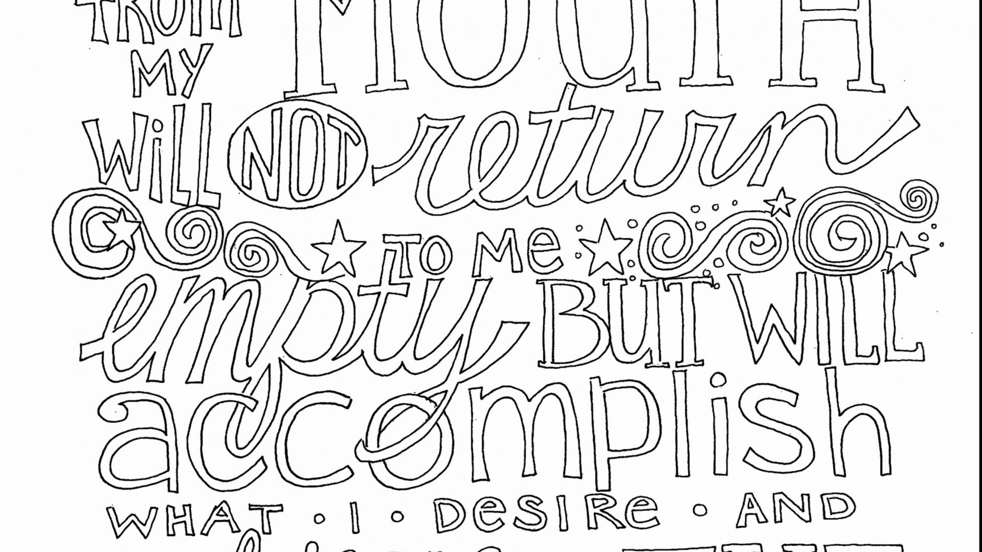 Free Printable Quote Coloring Pages For Adults Freerintable Quote