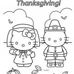 Free Printable Thanksgiving Coloring Pages Coloring Pages Thanksgiving Coloring For Kids Pages Hello Kitty