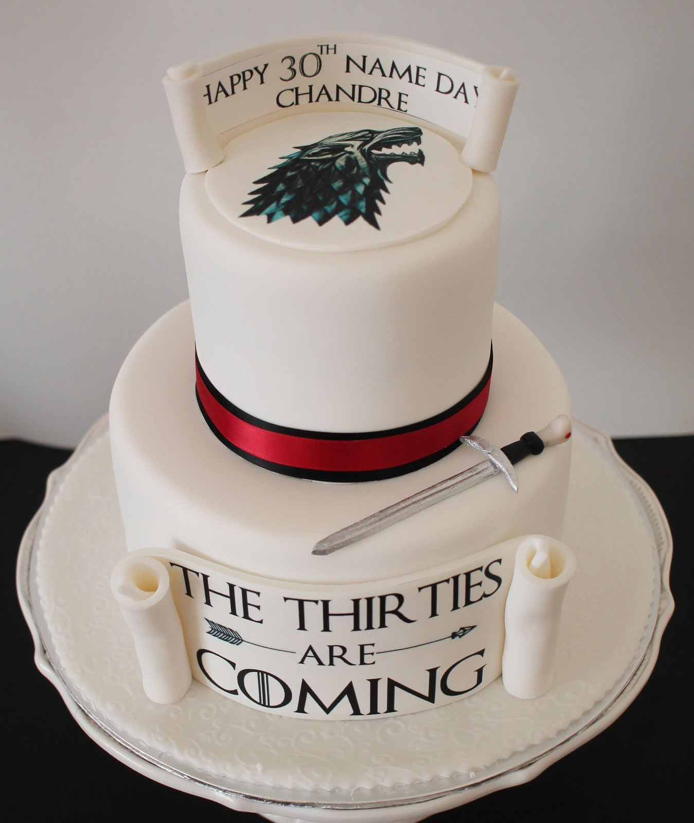 Game Of Thrones Birthday Cake Delanas Cakes