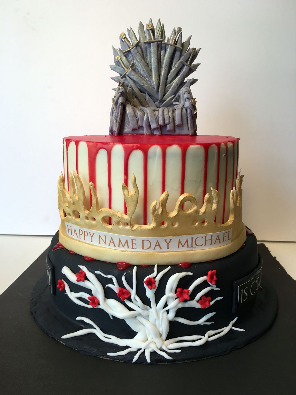 1334 In 34 Amazing Photo Of Game Thrones Birthday Cake