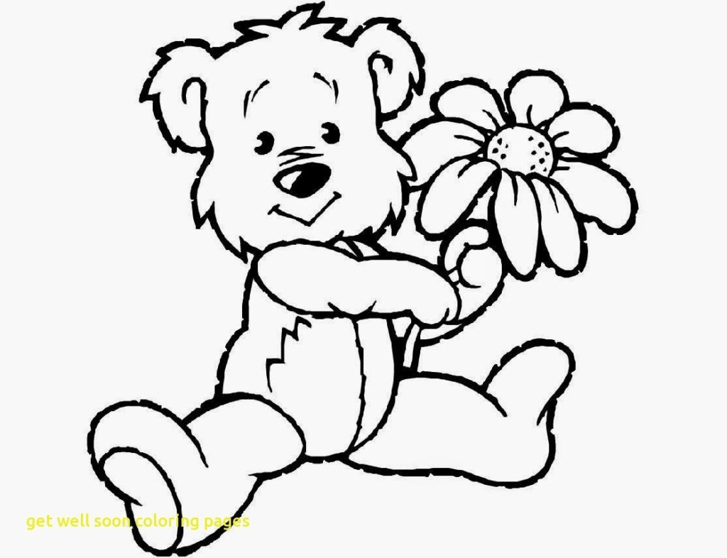 Get Well Coloring Pages Free Get Well Coloring Pages Get Well Soon Coloring Page Free
