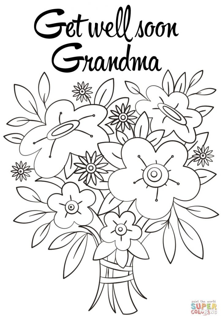 Get Well Coloring Pages Get Well Card Coloring Page At Getdrawings Free For Personal