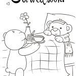 Get Well Coloring Pages Get Well Soon Coloring Page Free Printable Coloring Pages