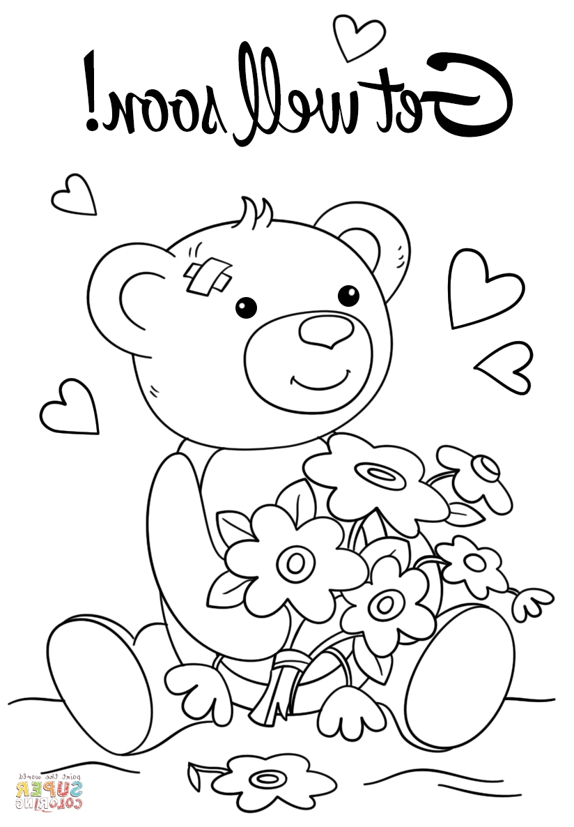 Get Well Coloring Pages Get Well Soon Coloring Pages 9ncm Get Well Soon Coloring Pages