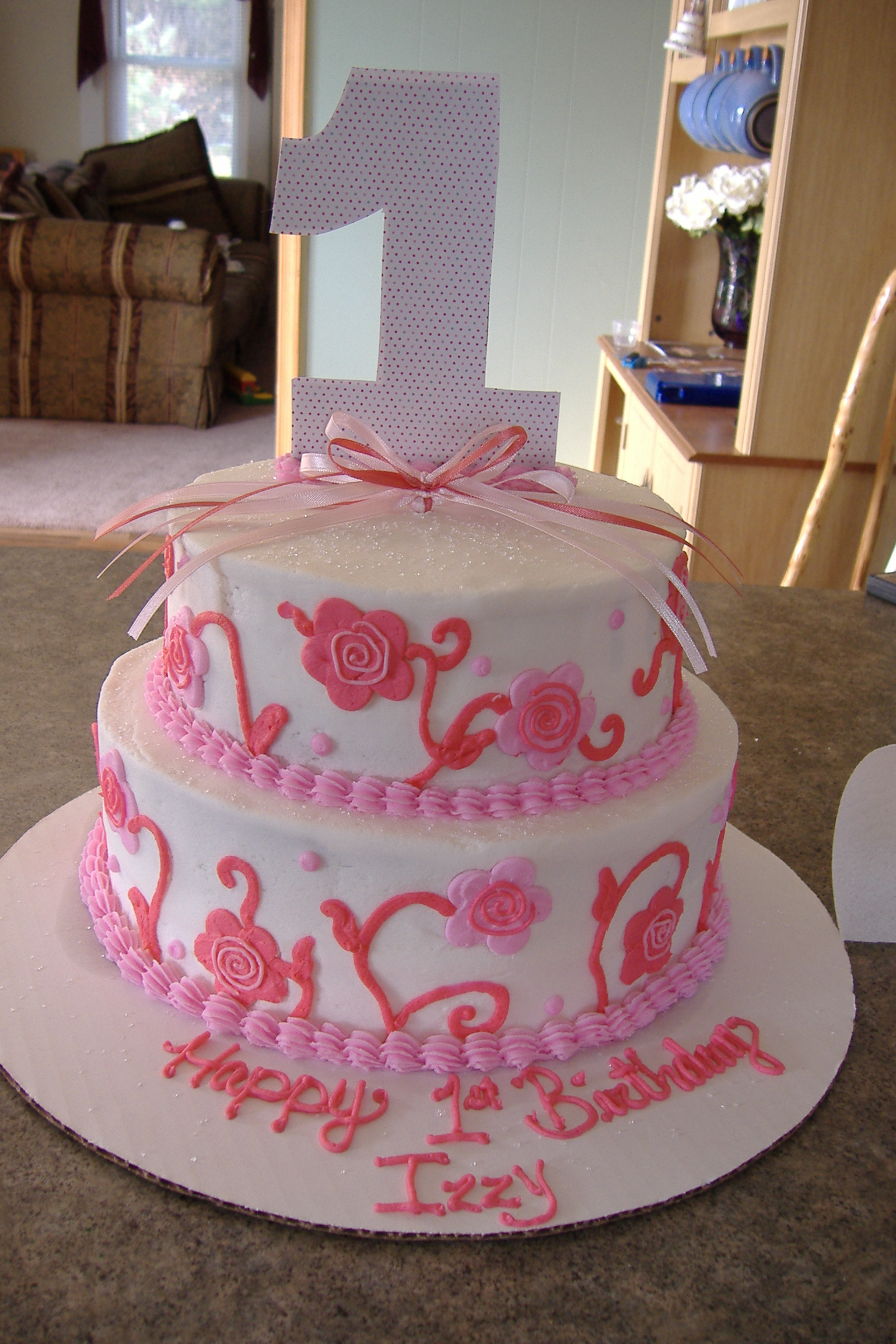 Girls First Birthday Cake Girls Birthday Cake Ideasbest Birthday Cakes