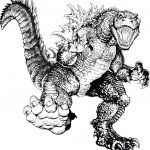 Godzilla Coloring Pages Coloring Pages Free Godzilla Coloring Pages Printable Download For