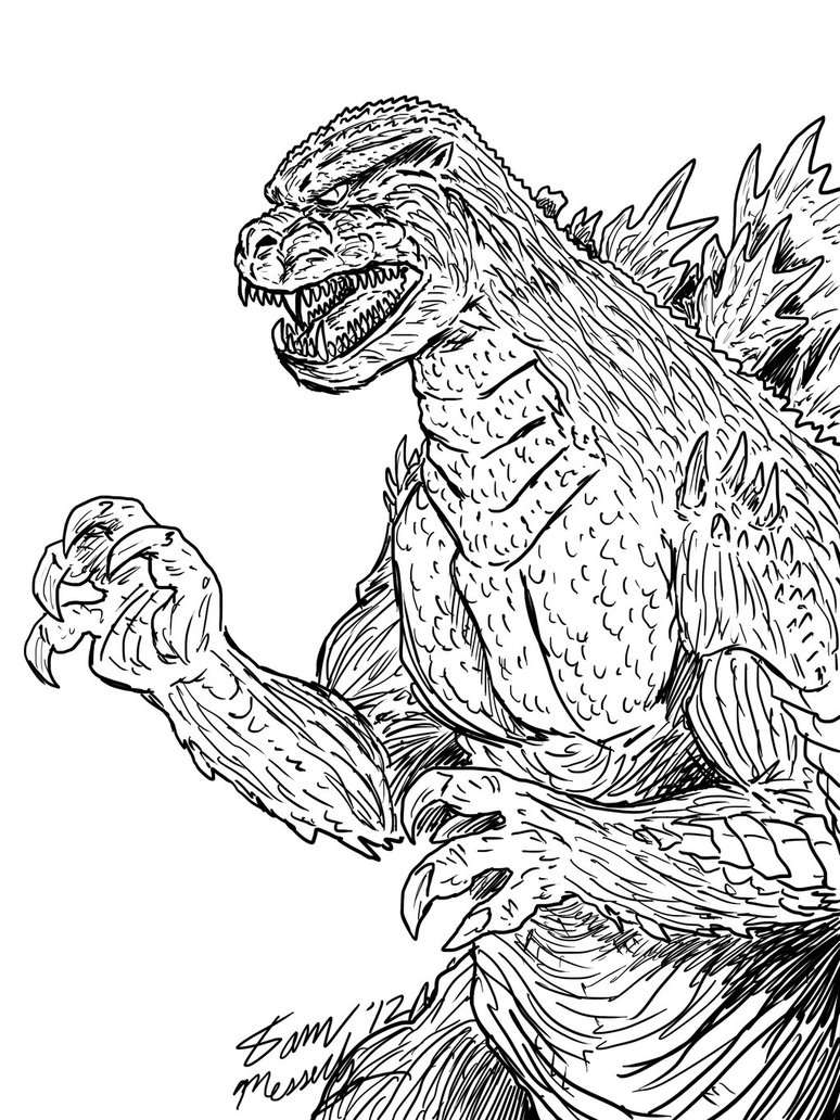 Godzilla Coloring Pages Free Godzilla Coloring Pages Coloring Home Godzilla Coloring Pages