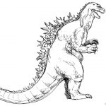 Godzilla Coloring Pages Godzilla Coloring Pages Free Printable Coloring Pages