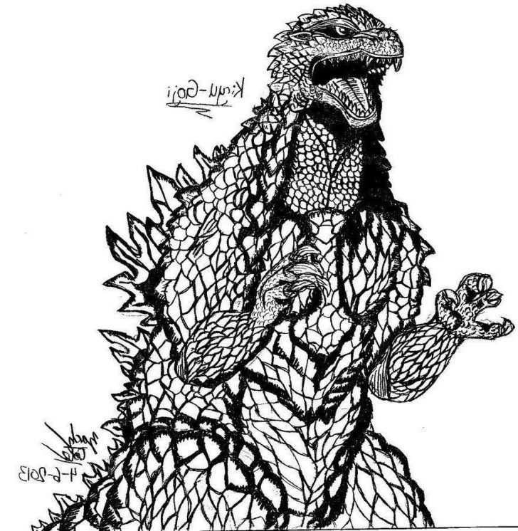 Godzilla Coloring Pages Godzilla Coloring Pages Fresh For Kids Mecha 561 Free Printable
