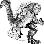 Godzilla Coloring Pages Godzilla Printable Coloring Pages Watchonsale