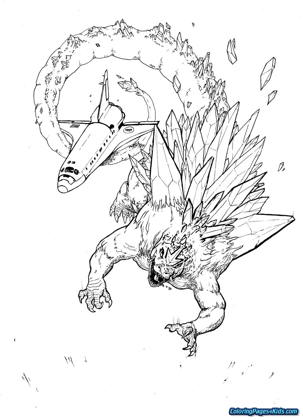 Godzilla Coloring Pages King Kong Vs Godzilla Coloring Pages Free Printable Coloring Pages
