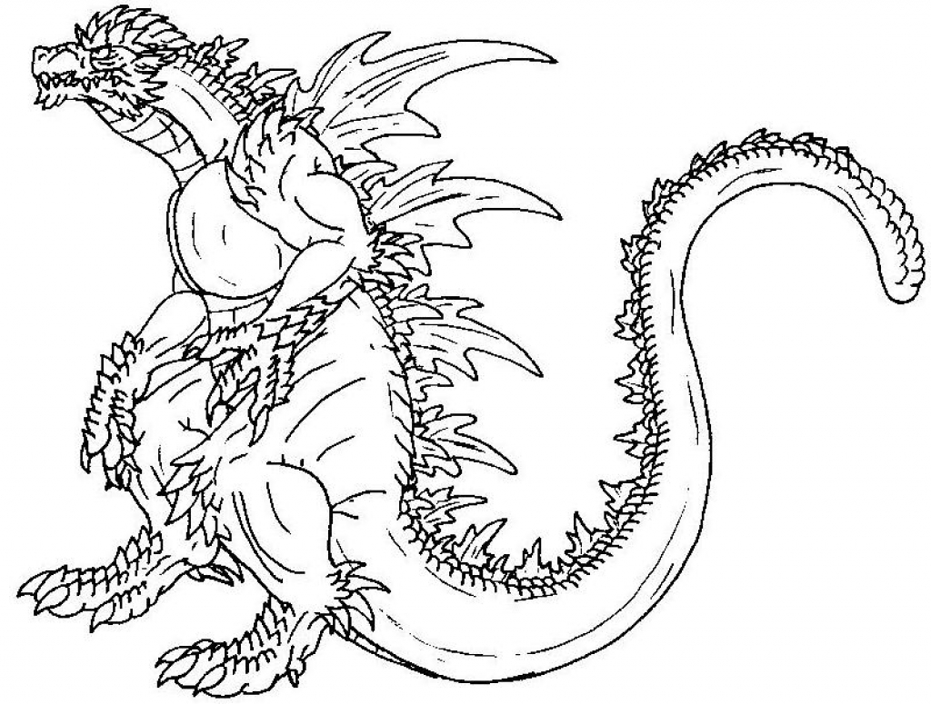 Godzilla Coloring Pages Printable Godzilla Coloring Pages Coloringstar