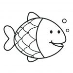 Goldfish Coloring Page Color Page Fish Suddenly Cute Goldfish Coloring Pages Koi For With