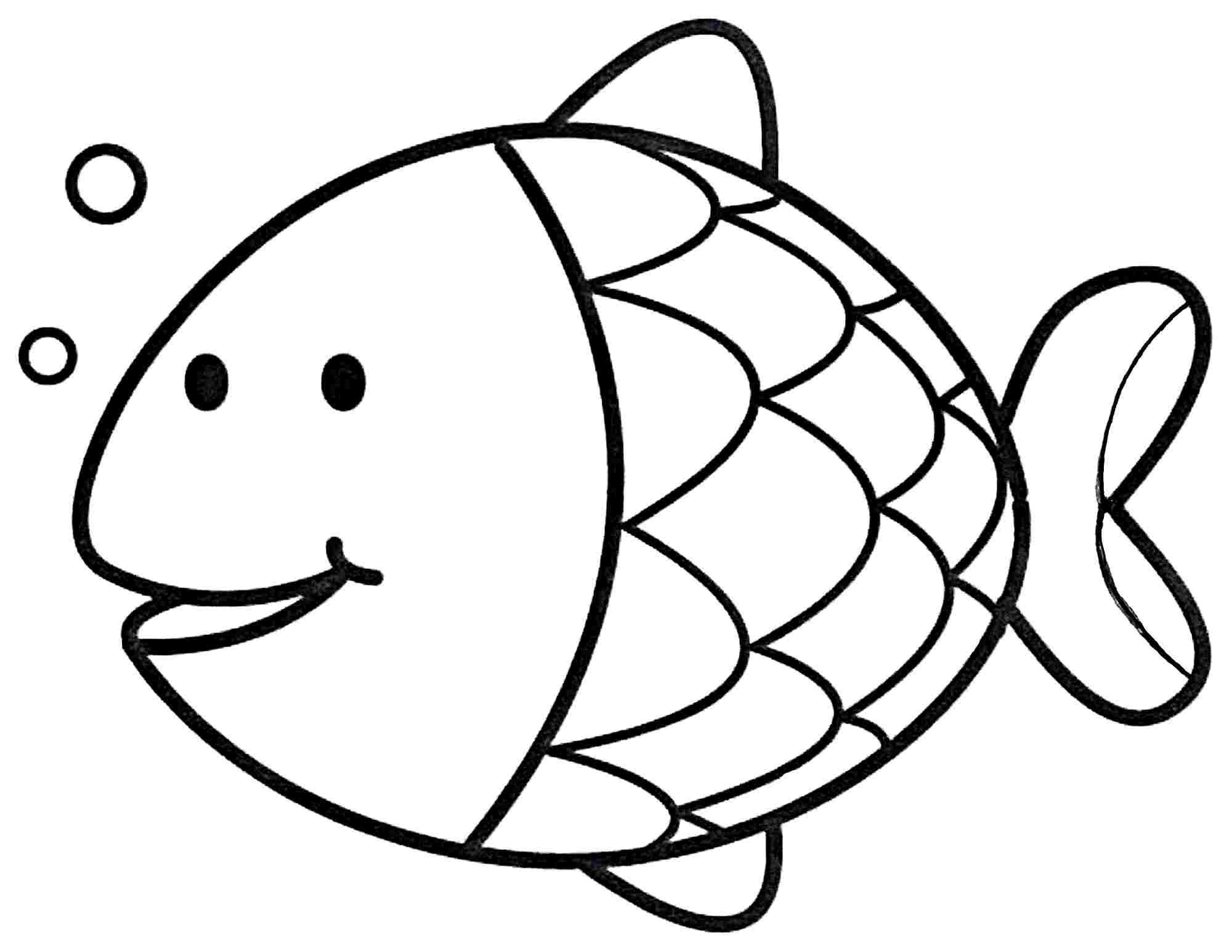 Goldfish Coloring Page Easy Coloring Sheets Save Colouring Pages New Fish Bertmilne Mazhab