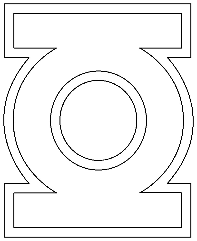 Green Lantern Coloring Pages Green Lantern Coloring Pages Dapmalaysia