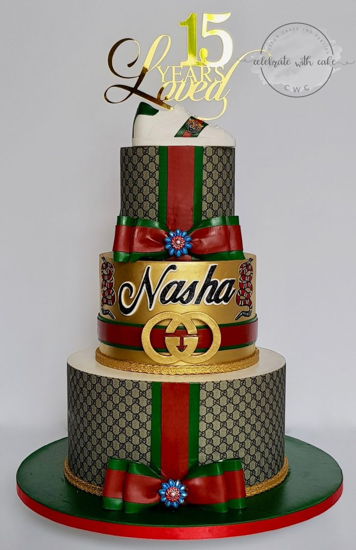 Gucci Birthday Cake Celebrate With Cake Hypebeast Gucci 3 Tiers Cake