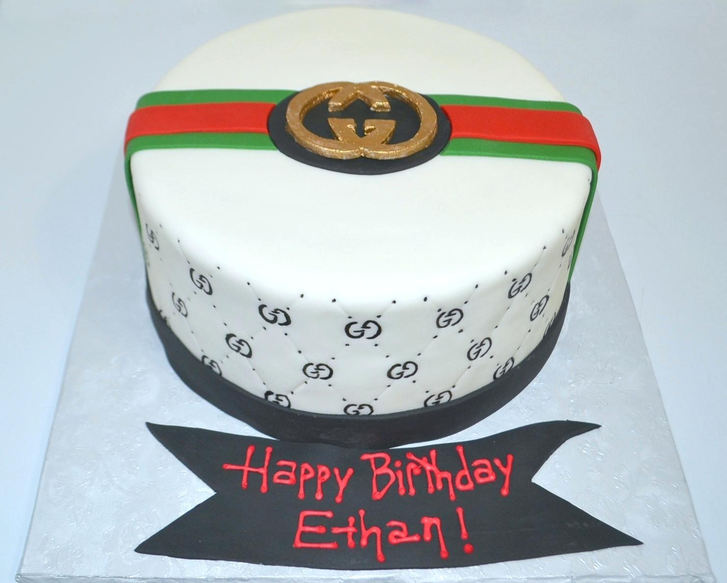 Gucci Birthday Cake Gucci Cake Ideas Gucci Birthday Cake Images Wondercraftnetworks