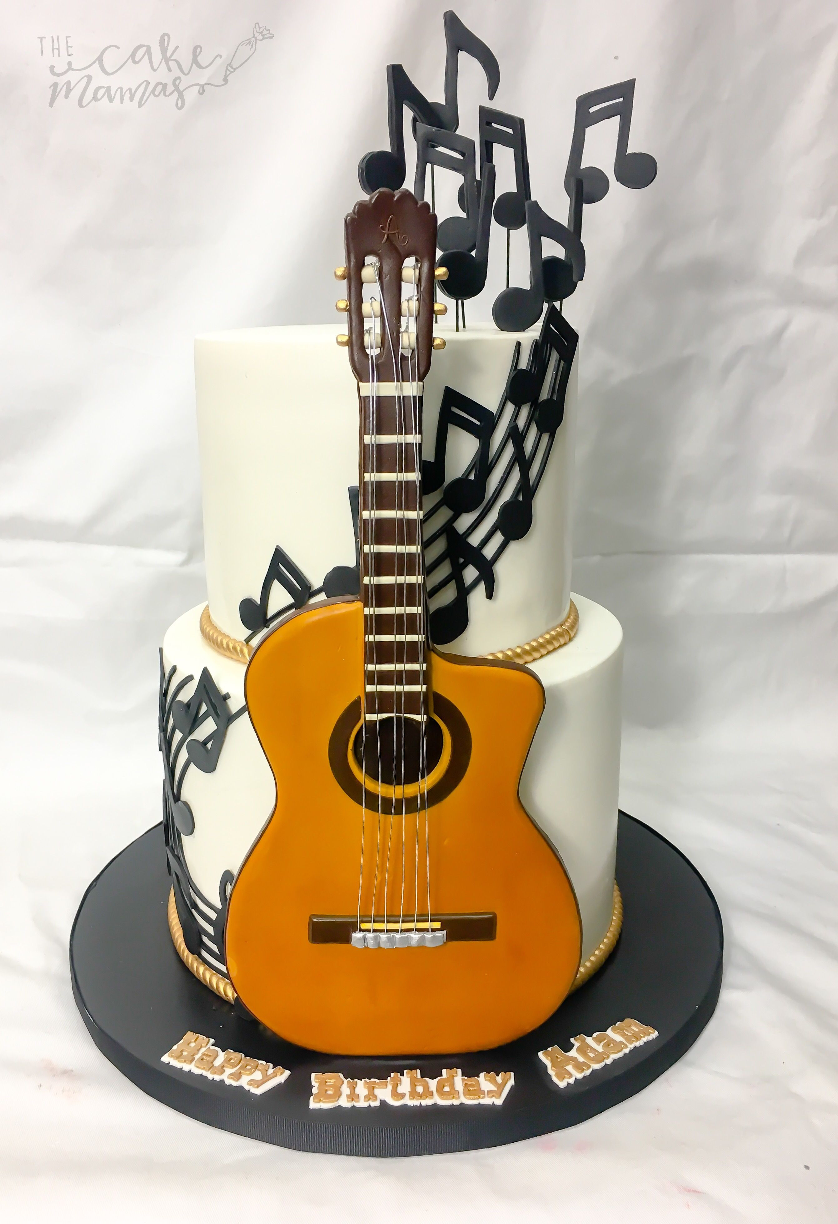 Guitar Birthday Cake Musiccake Birthday Country Desserts Bring Out The Cake Cake