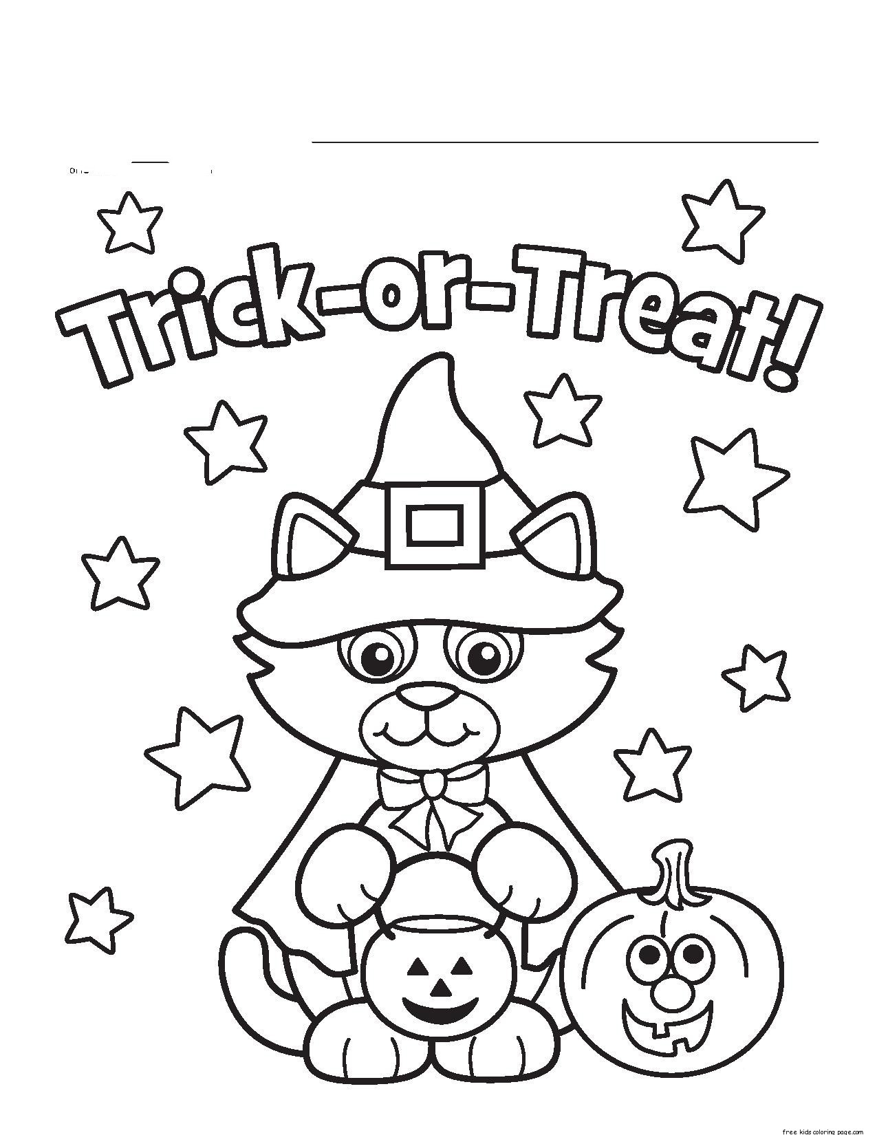Halloween Coloring Pages Printable Halloween Coloring Pages Printable Toddler New 12751650 Attachment