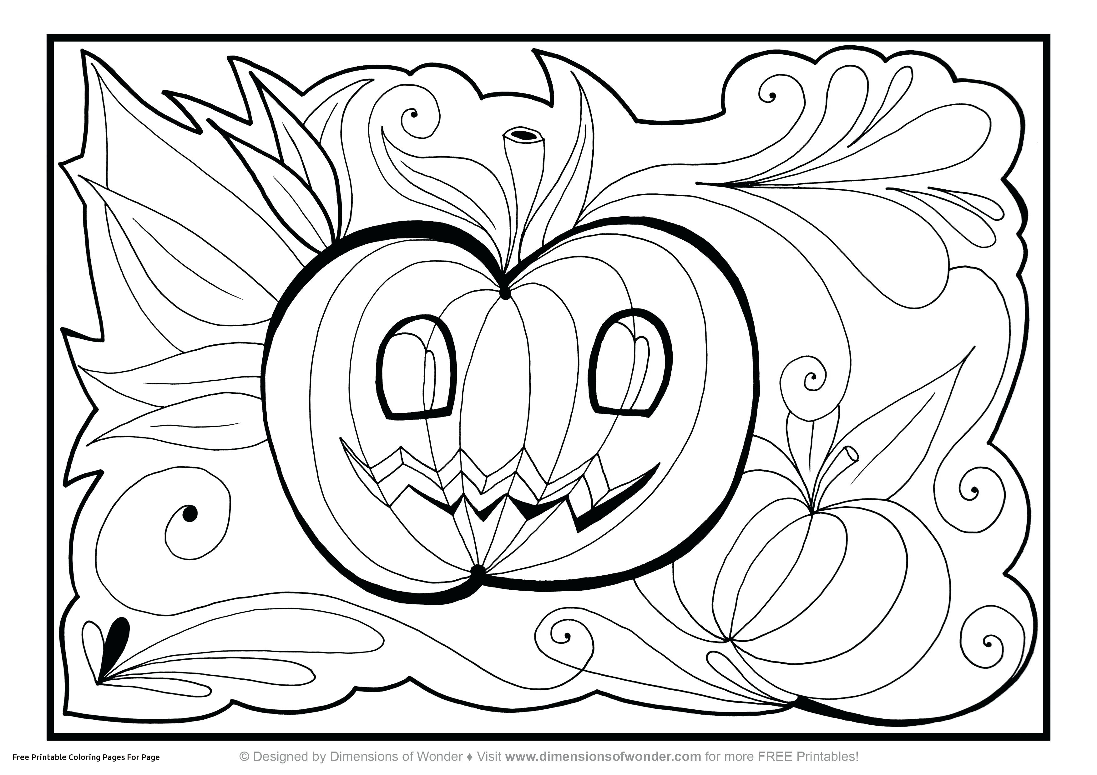 Halloween Coloring Pages Printable Unique Halloween Coloring Pages Printable Witches Adult Sheets For