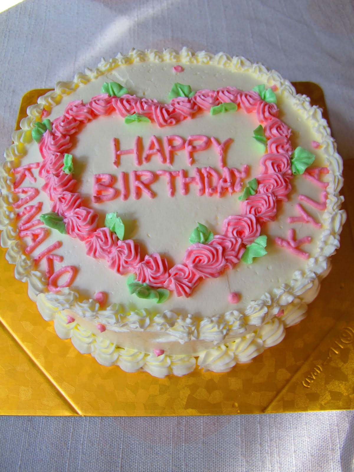 Happy Birthday Cake And Flowers Images 11 Most Common Flowers For Birthday Cakes Photo Birthday Cake With