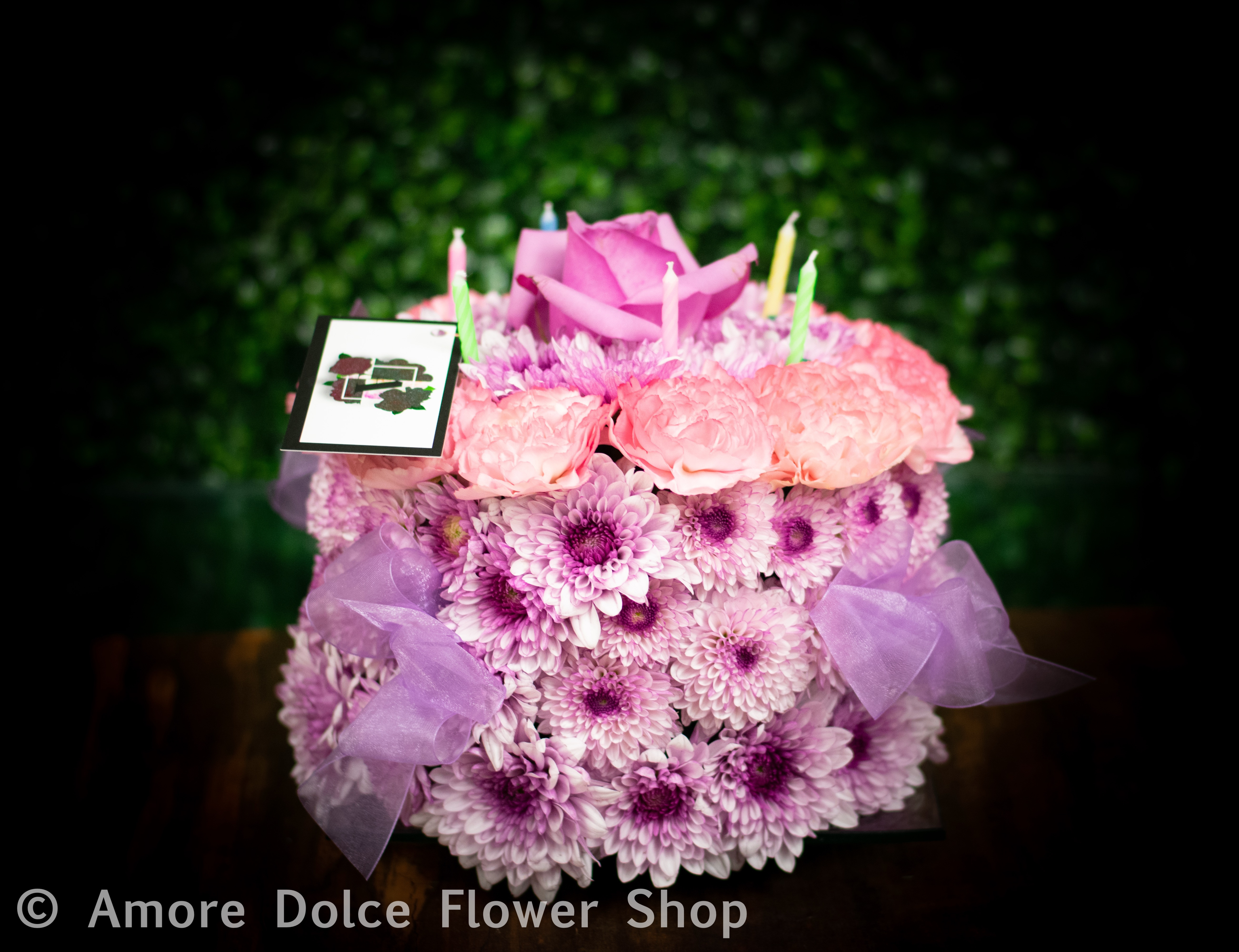 Happy Birthday Cake And Flowers Images Happy Birthday Cake In Montebello Ca Amore Dolce Flowers