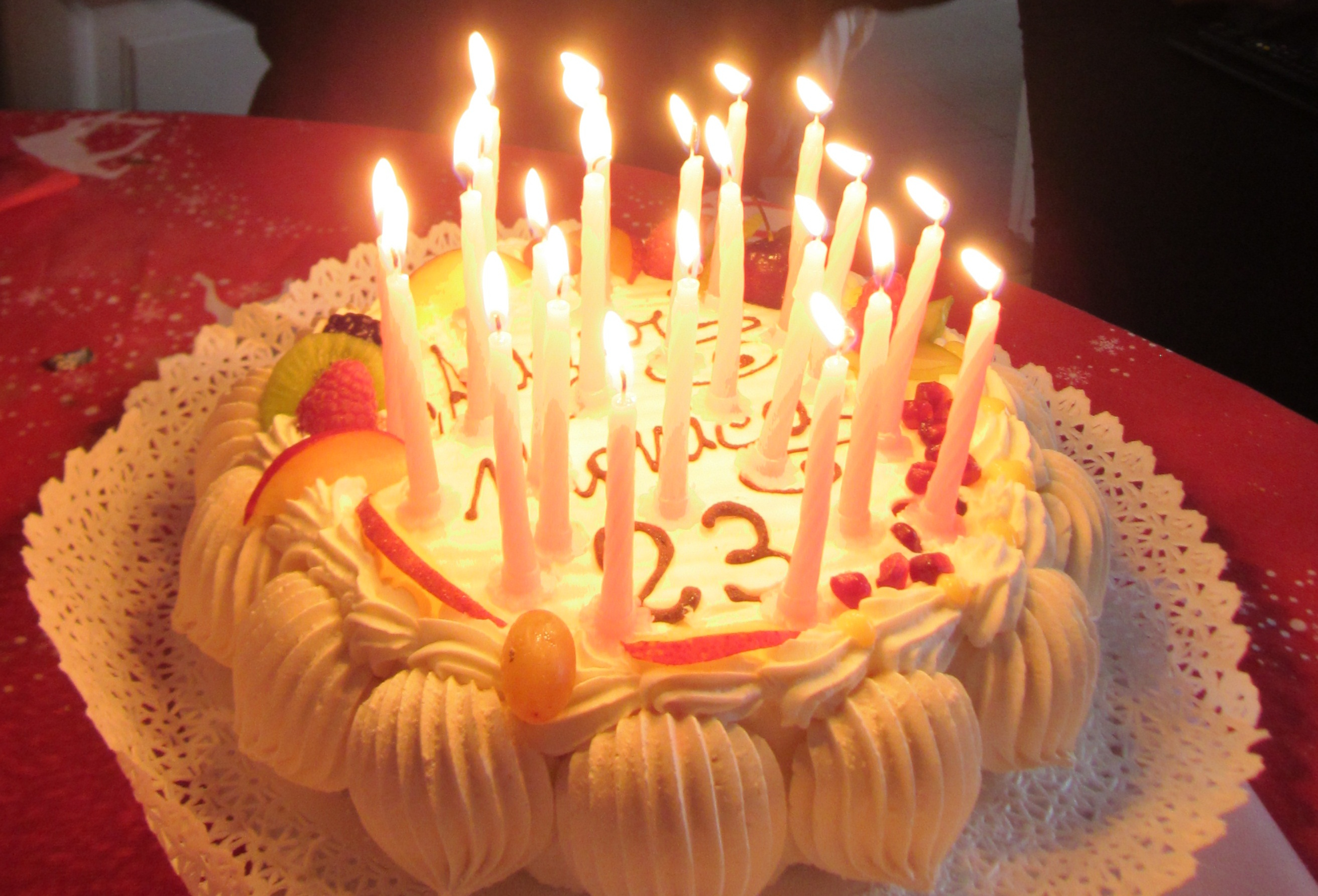 2625 X 1785 In 25 Elegant Picture Of Happy Birthday Cake With Candles