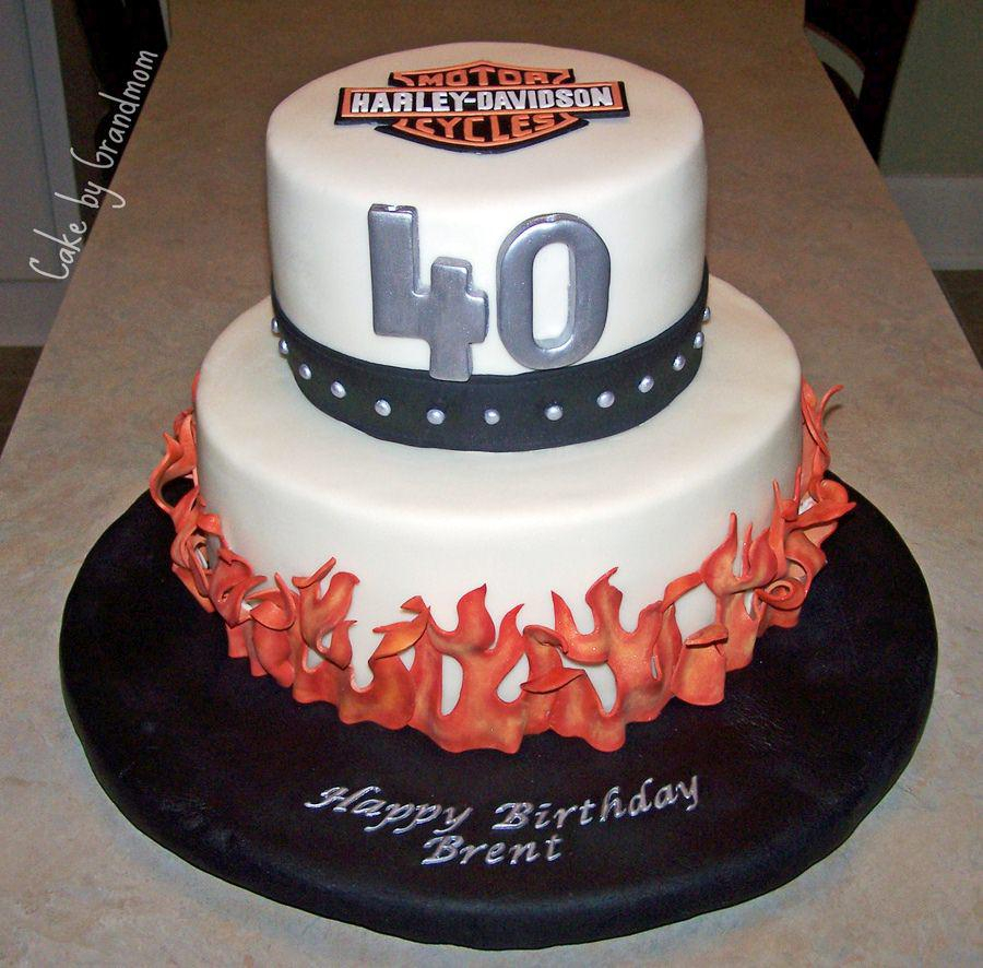Happy Birthday Cakes For Him 40th Cake Ideas And Recipes Men Protoblogr Design