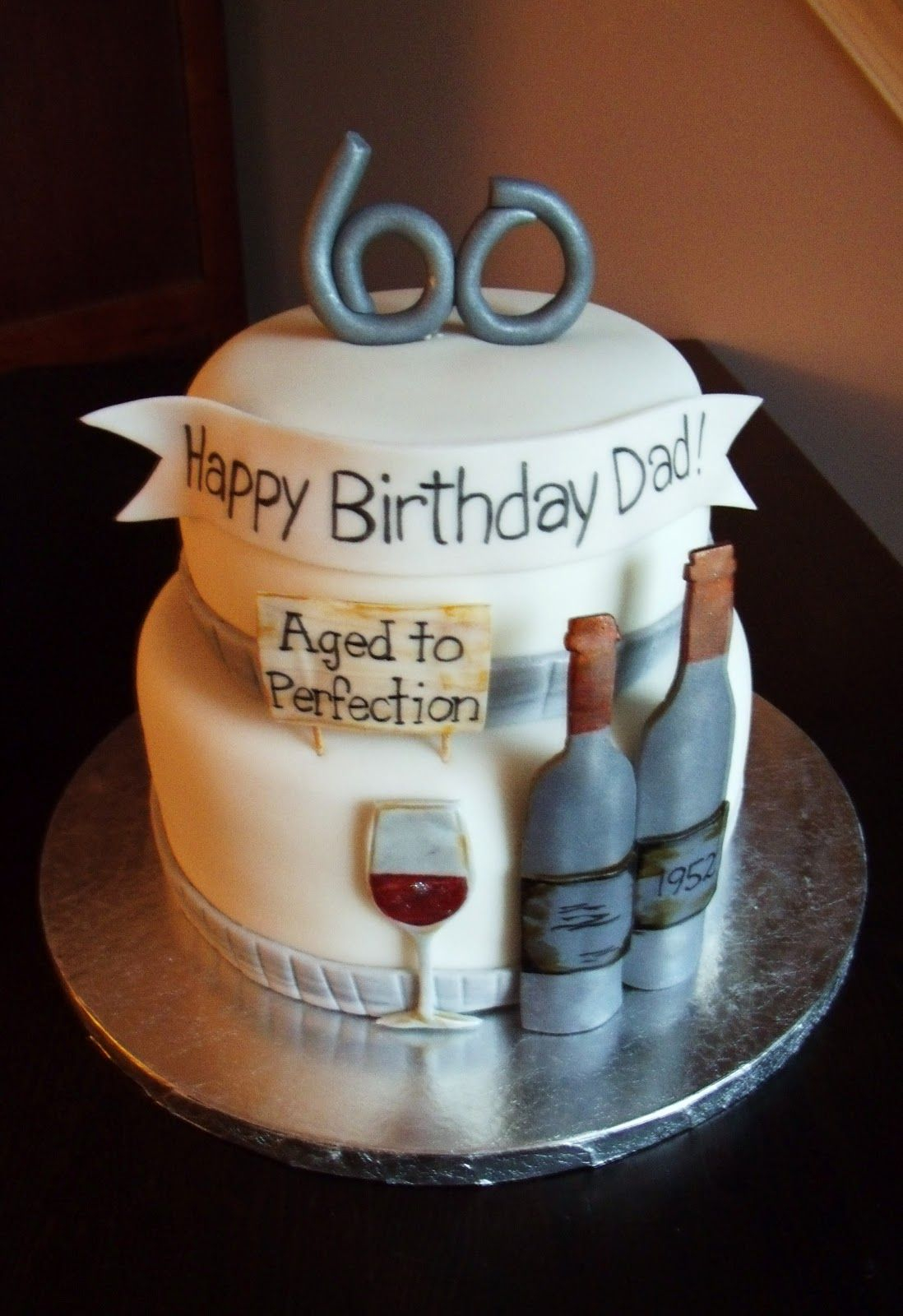 Happy Birthday Dad Cake 60th Party Ideas Google Search Big Parties Pinterest