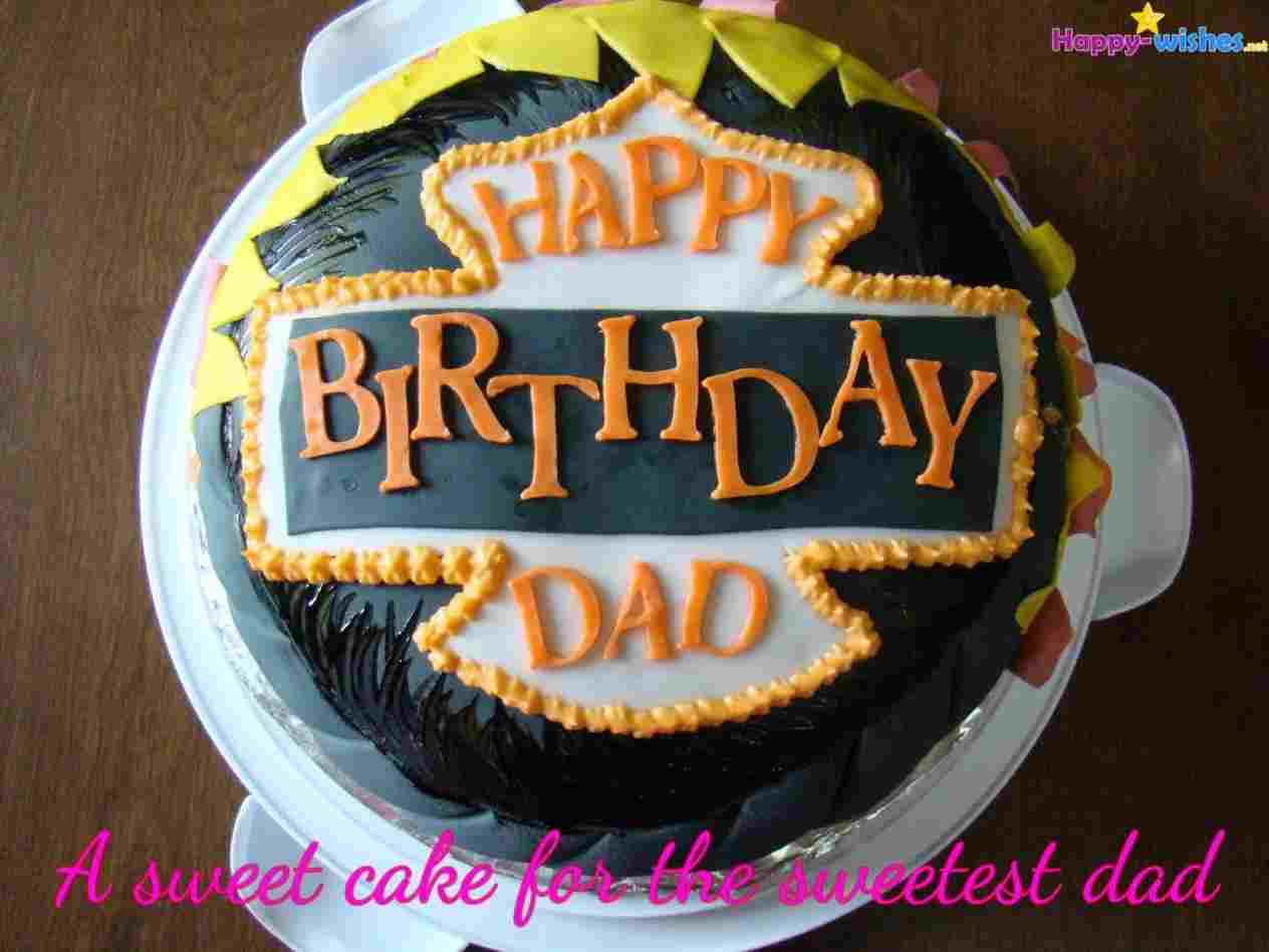 948 In 25 Great Image Of Happy Birthday Dad Cake