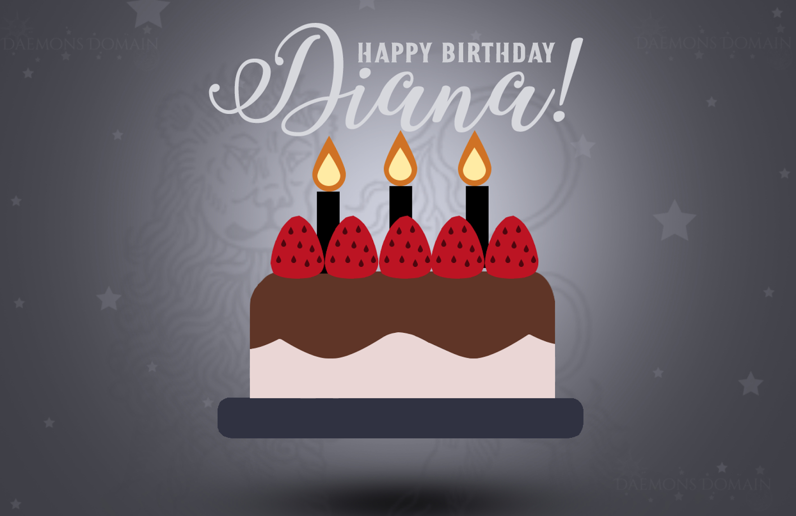 Happy Birthday Diana Cake Daemons Domain All Souls Trilogy Universe Fan Site Podcast