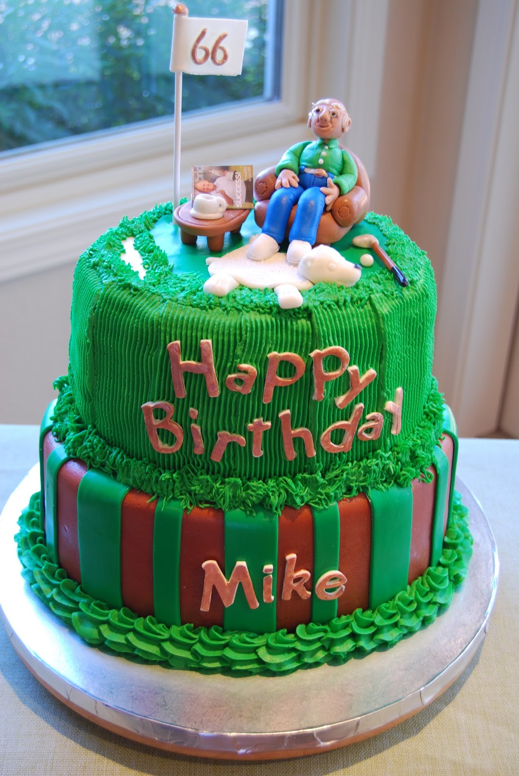 Happy Birthday Mike Cake 10 60th Cakes Photo 40th