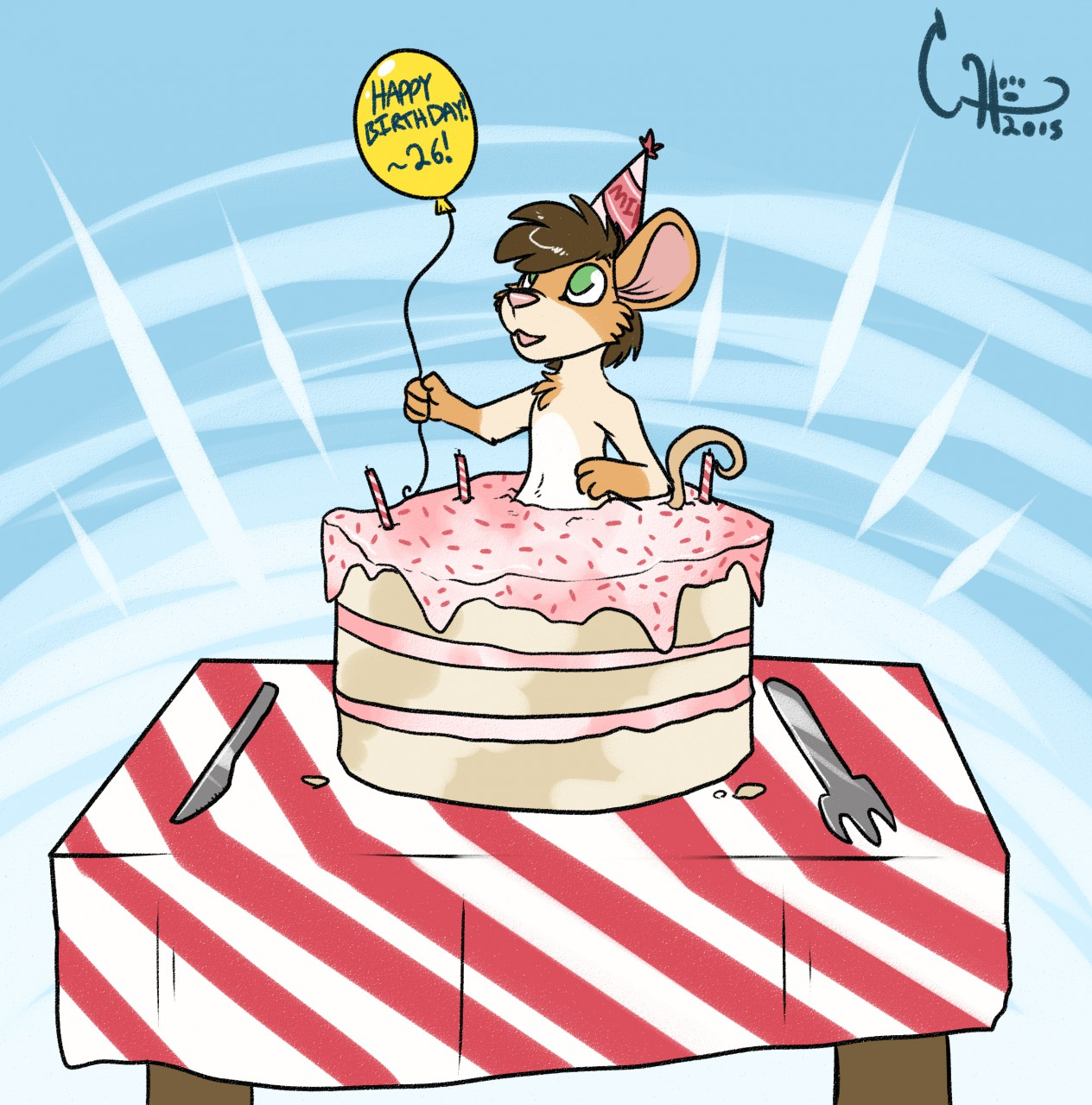 Happy Birthday Mike Cake Happy Birthday Mike D Mouse26 Fur Affinity Dot Net