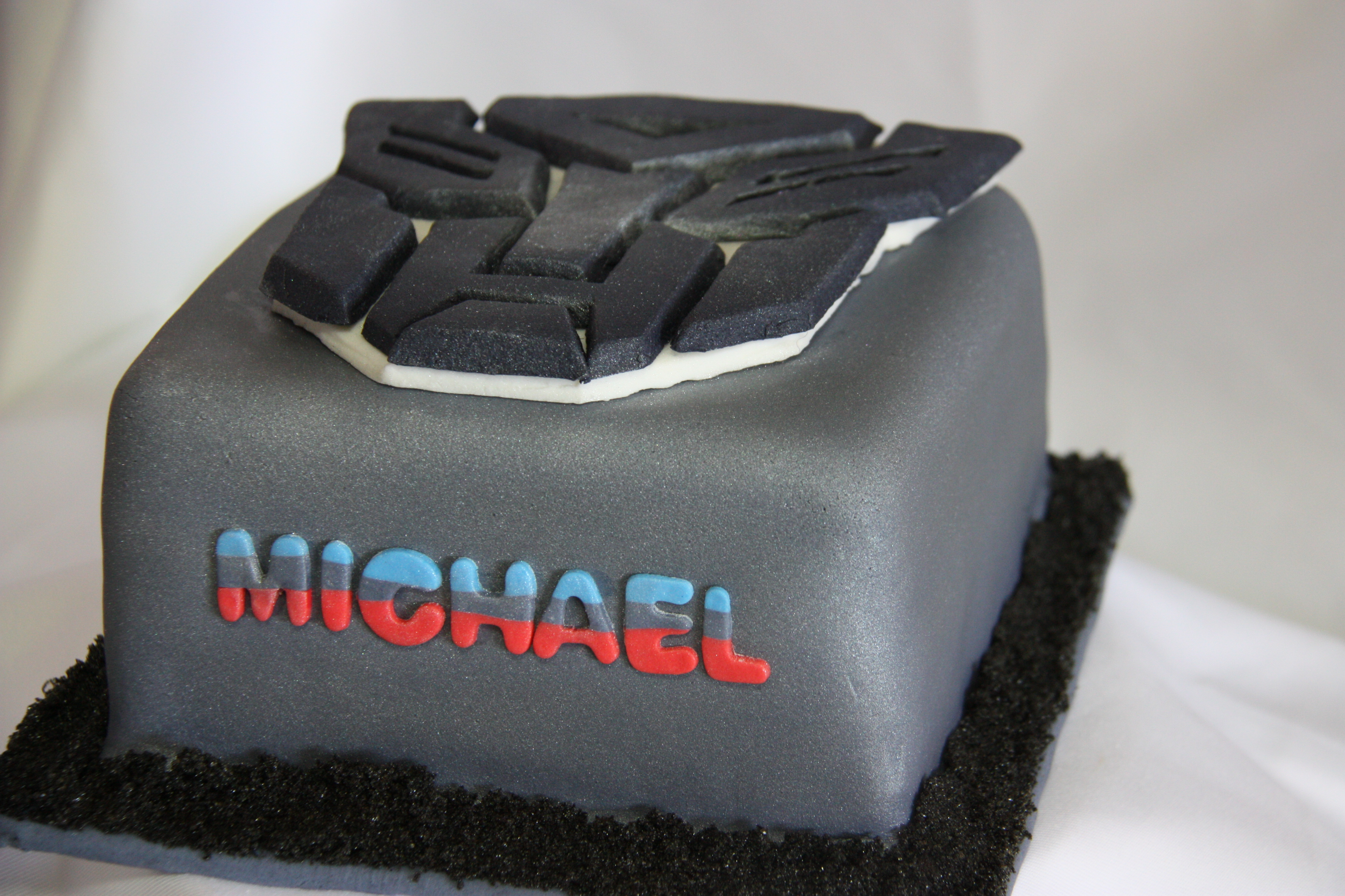 Happy Birthday Mike Cake Transformer Autobot Cake Opulent Cakes For All Occasions