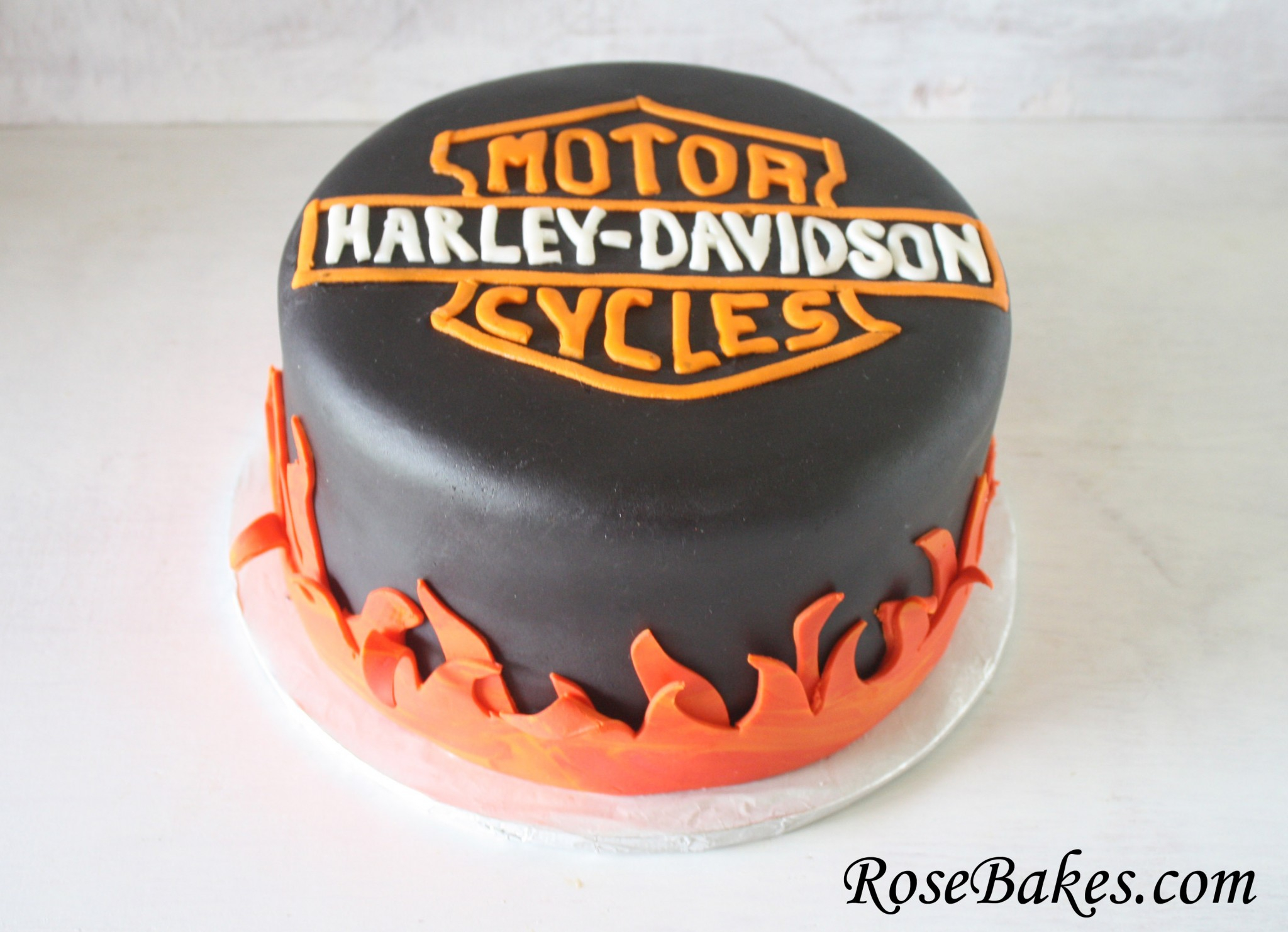25+ Best Picture of Harley Davidson Birthday Cake