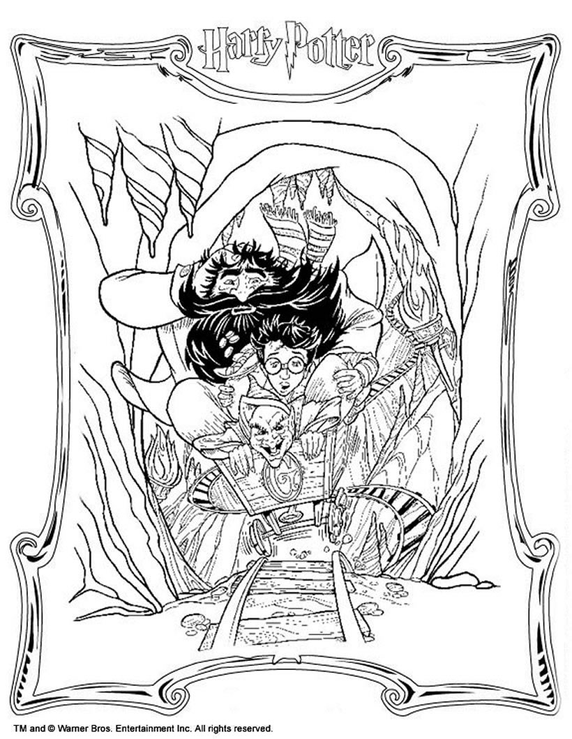 Harry Potter Coloring Pages Coloring Pages Harry Potter Coloring Book Adult Pdfharry
