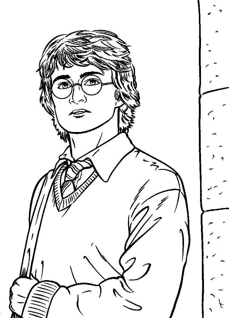 Harry Potter Coloring Pages Free Printable Harry Potter Coloring Pages For Kids