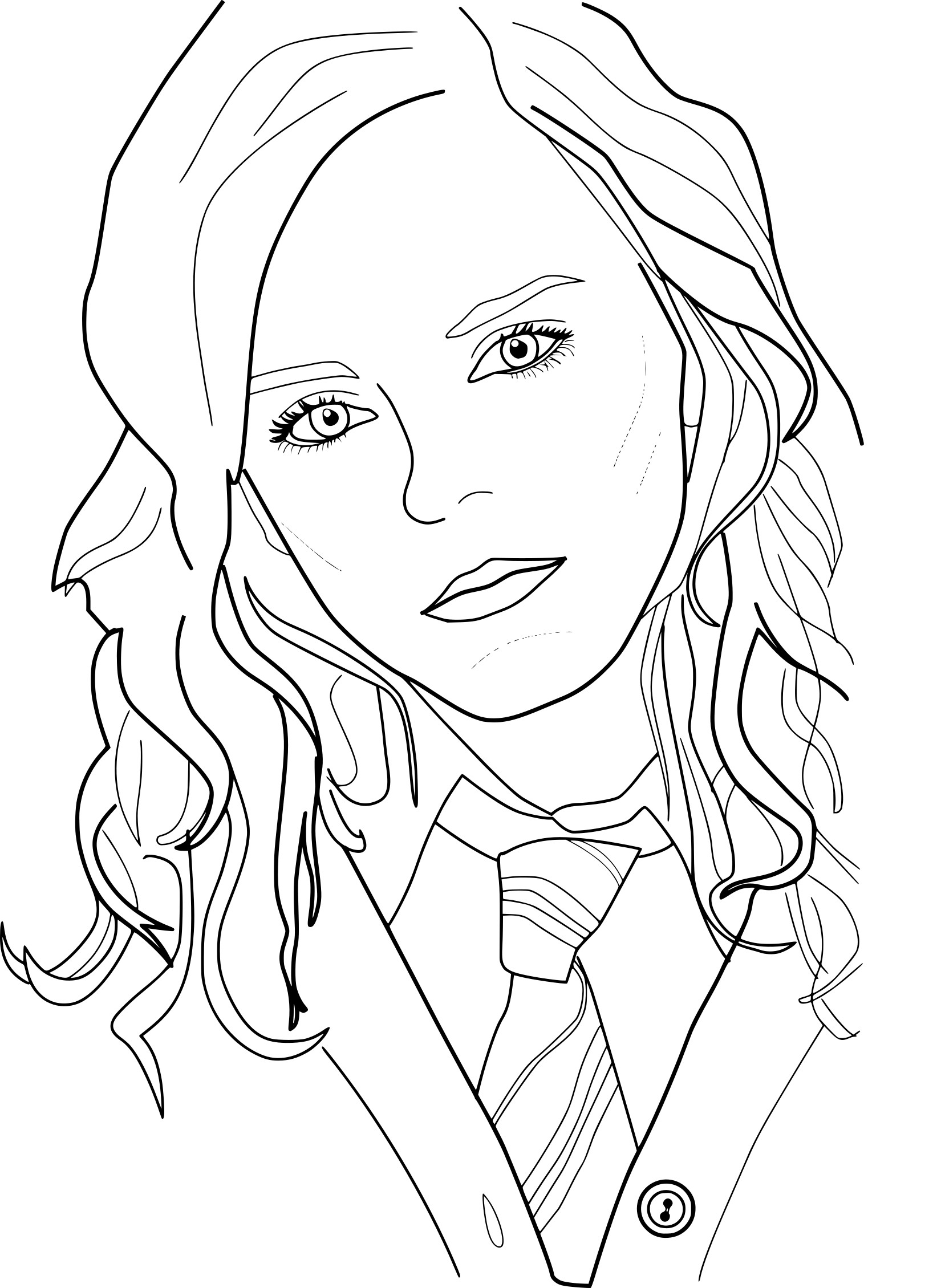 Harry Potter Coloring Pages Harry Potter Coloring Page Coloring Pages For Kids