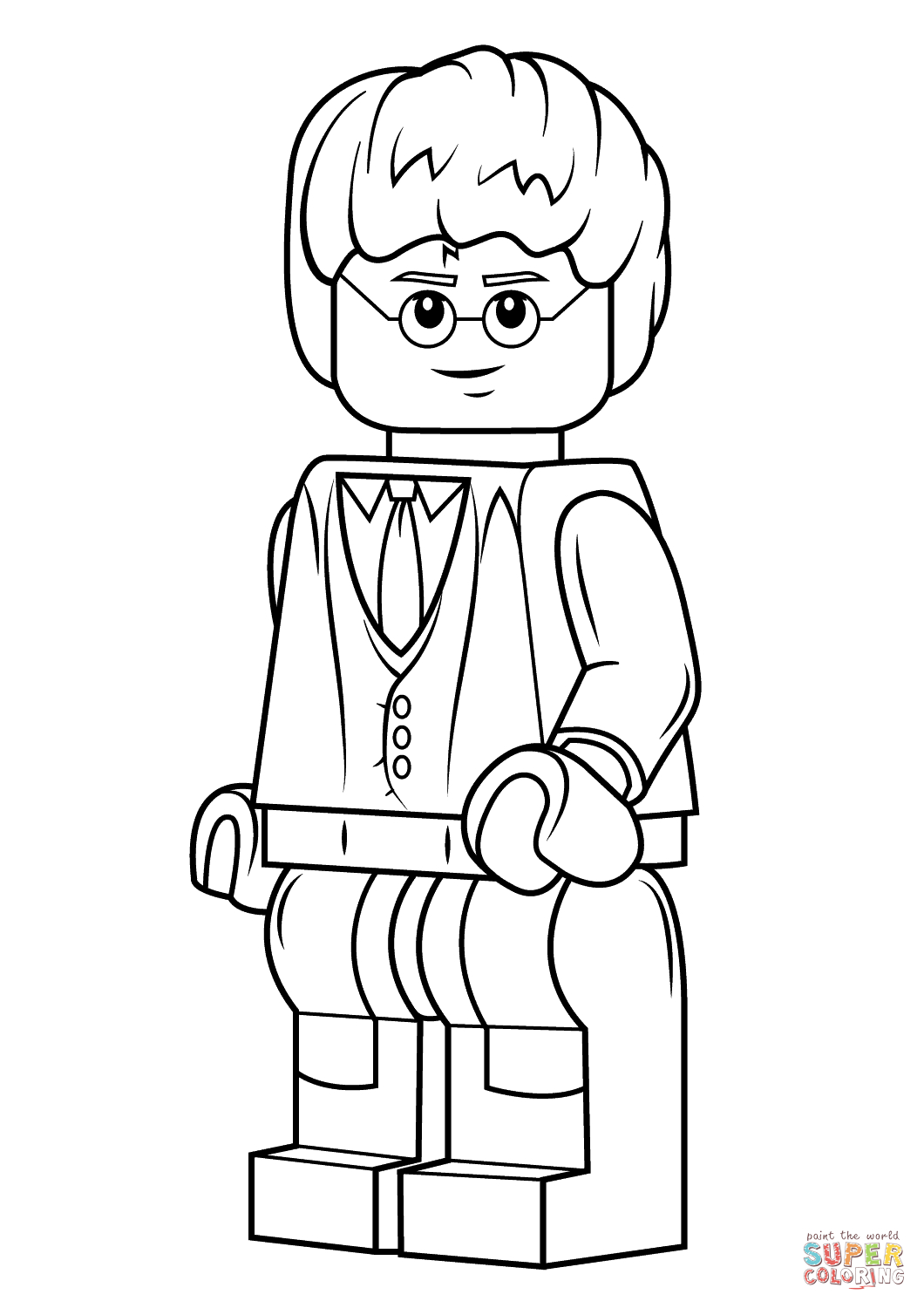 Harry Potter Coloring Pages Lego Harry Potter Coloring Page Free Printable Coloring Pages