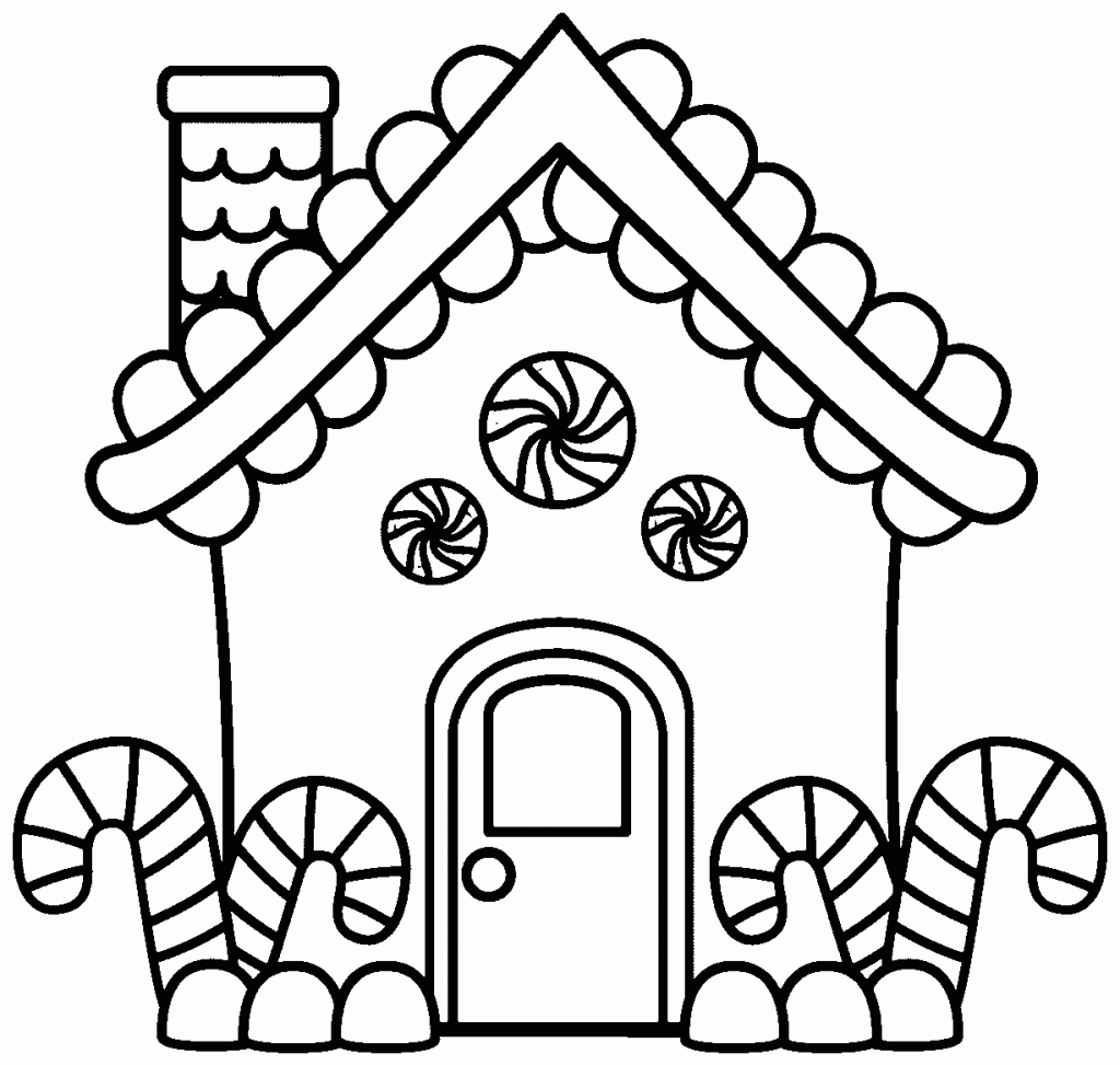 30+ Great Photo of House Coloring Pages
