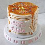 How To Make Birthday Cake How To Make A Pancake Cake Rose Bakes