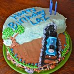 How To Make Birthday Cake How To Make A Super Cool Thomas The Train Birthday Cake Off The