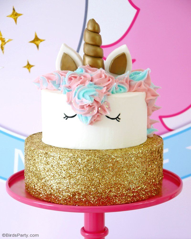 How To Make Birthday Cake How To Make A Unicorn Birthday Cake In 2018 Retail Party