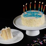 Images Of Happy Birthday Cake Double Layer Vanilla Cake Birthday Cakes For Sale