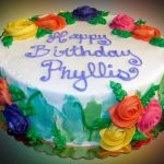 Images Of Happy Birthday Cake Happy Birthday Cake For Phyllis Sweet Somethings Desserts