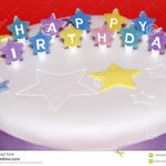 Images Of Happy Birthday Cake Happy Birthday Cake Stock Image Image Of Colour Wish 17039489